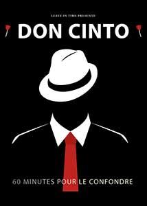 Silhouette d'un mafia illustrée