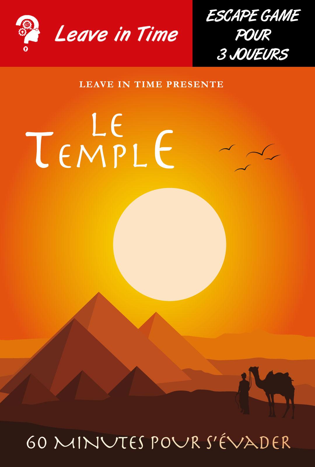 PASS CULTURE LE TEMPLE LEAVE IN TIME NANTES 3 JOUEURS